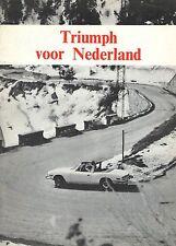 Triumph Toledo Spitfire Stag GT6 TR6 Herald • '71 • Brochure • Dutch • EXCELLENT