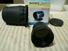 Open-Box Sony VCL-DH1758 Tele Conversion Lens for DSC-H1/H2/H5 Digital Cameras