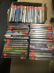 57 BRAND NEW HUNTING DVD LOT Resale Wholesale Various Hunts