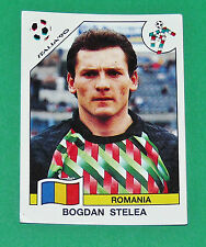 N°154 BOGDAN STELEA ROMANIA PANINI COUPE MONDE FOOTBALL ITALIA 90 1990 WC WM