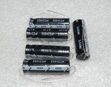 5PCS NCC SM series 350v22uf Axial high voltage aluminum electrolytic capacitors