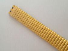Modello SWATCH CINTURINO WATCH STRAP BAND ELASTIC ELASTICO GOLD 20 MM SW535