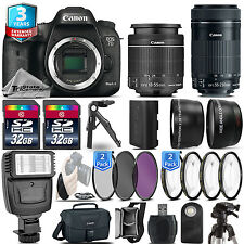 Canon EOS 7D Mark II DSLR Camera + 18-55mm STM + 55-200mm IS STM + 3yr Warranty