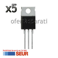 5X Transistor IRFZ44N Mosfet 49A 55V TO-220