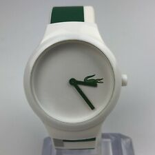 LACOSTE GOA WATCH WHITE AND GREEN RUBBER STRAP WATCH CASE 40mm 6.429.104