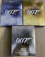 James Bond Blu-Ray Volume One, Two and Three