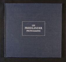 "Lee Friedlander Photographs ""LFP"" New & Signed Photography Book"