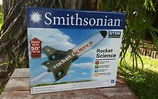STEM Rocket Science build and launch rocket kit Smithsonian includes poster 7z