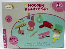 Kinder Schminkset Holzspielzeug Kosmetikset Kinder Rollenspiel Spielzeug