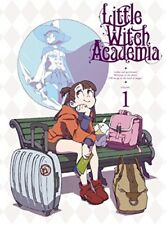 Little Witch Academia Vol.1 First Limited Edition Blu-ray+Making Book+Card Japan