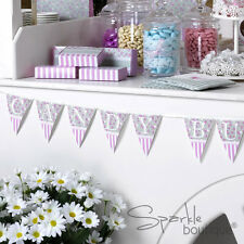 CANDY BUFFET BUNTING - Sweetie Bar - Floral - FULL FRILLS & SPILLS RANGE IN SHOP
