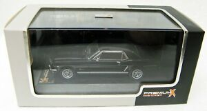 1965 Ford Mustang black 1/43 Premium X PRD204 MB