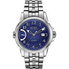 $1695 Bulova Accu Swiss Calibrator Men's Stainless Steel Automatic Watch 63B175