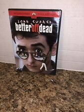 Better Off Dead (Dvd, 2002, Sensormatic) Oop Dvd