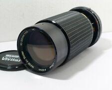 VIVITAR 80-200mm PENTAX PK-A fit MACRO ZOOM LENS for PENTAX 35mm FILM SLRs ONLY