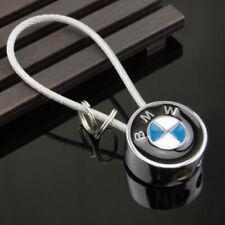BMW Blue Key Ring Wire Steel Metal Rope 1,3,5,6,7 X,M series