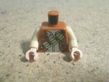 Lego City Minifig Tan Torso Dino Dinosaur Staff NEW