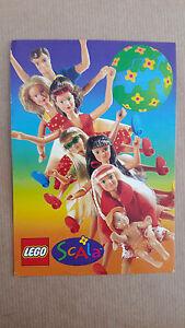 Postkarte - Ansichtskarte LEGO Scala  Werbekarte / Reklamekarte ungelaufen