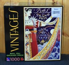 Vintage Bal Du Grand Prix 1000PC Puzzle Sealed Sears