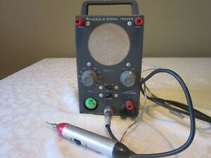 Heathkit Model T-4 vintage Signal Tracer, with original probe