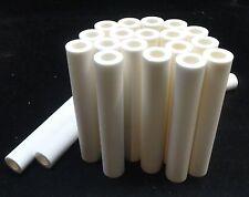 "4.5"" LONG HIGH PURITY THICK-WALLED ALUMINA CERAMIC TUBE REFRACTORY No.: 214"