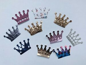 10/20/50 Pieces of Crown Embellishments
