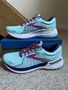 BNIB Women's Brooks Adrenaline GTS 21 Trainers/Shoes Blue/Purple UK Sz. 8