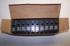 10) New Square D 20 Amp 1 Pole 120/240 Volt Circuit Breakers Hom120