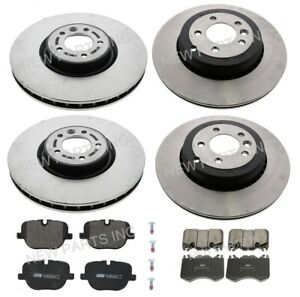 For Land Rover Range Rover Sport SC 5.0L 10-13 Front & Rear Rotors+Pads