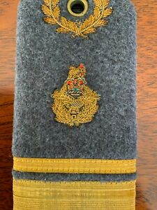 Rare raf Air Vice Marshal full dress bullion shoulder board / badge air rank