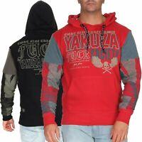 Yakuza Herren Hoodie Hoody Pullover Sweatshirt Kapuzenpullover Shirt HOB14005