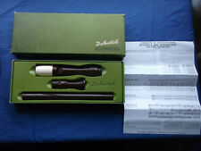 More details for dolmetsch treble recorder  original box with instructions tablature & tunes in f