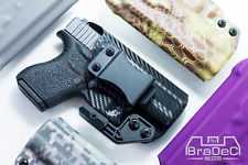 BraDeC: IWB Concealment Holster for Glock 43, 43X  (NO RAIL)