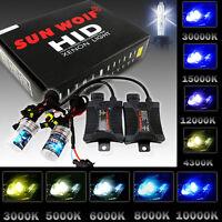 55W HID XENON Headlight Conversion Kit Slim Ballasts H1 H3 H4 H7 H9 H11 9006 HB2