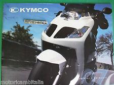 KYMCO SCOOTER MOTO ATV 2007  CATALOGO BROCHURE  PUBBLICITA PROSPEKT RECLAME