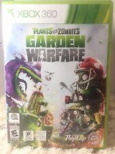 XBox 360 Plants Vs Zombies Garden Wafare Game Disk Cover X Box Live Rqd