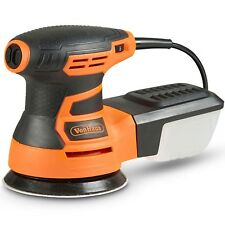 "VonHaus 350W 125mm 5"" Random Orbit Sander For Wood Metal & Plastic"
