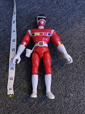 """Power Rangers in Space RED RANGER 8"""" Action Figure Bandai 1998"""