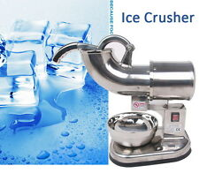 Electric Ice Shaver Machine ITOP CE 440lbs Snow Cone Crusher Shaving Cold Drink