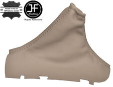 BEIGE LEATHER FOR VOLVO S60 2001-2007 HANDBRAKE GAITOR COVER