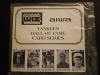 New York Yankees Hall of Fame Baseball Series 3 SHEETS 35 CARDS Unopened