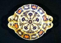 Stunning Royal Crown Derby Old Imari 1128, 1st Quality Footed Nut Dish