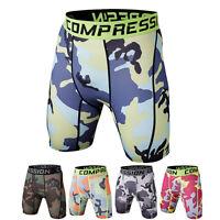 Herren Kompressionshose Kurz Jogging Fitness Hose Sporthosen Sport Shorts Pants
