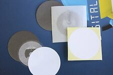20 NFC Tags NTAG216 Chip Clear Stickers + 10 White Labels + 10 Anti metal layers