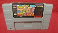 Disney Great Circus Mystery *Authentic* Super Nintendo SNES Game Works / Tested