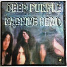 Deep Purple Machine Head LP with Fold out Lyric Sheet Aust. Issue Quadraphonic