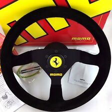 Momo Suede Steering Wheel, Hub Kit, Horn Set. *** FERRARI F355 360 CHALLENGE ***