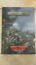 Earth and Steel supplement USED Flames of War Battlefront Miniatures hardback
