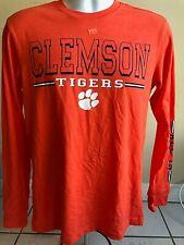 Clemson Tigers Men's Long Sleeve Shirt Colosseum Athletics Size XL new w tags