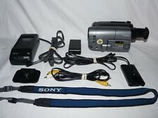 Sony Handycam CCD-TRV21 8mm Video8 Camcorder VCR Player Camera Video Transfer